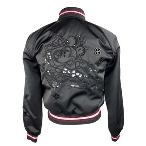 COACH x DISNEY Varsity Bomber Jacket Minnie- XXS